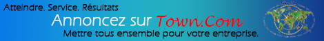 Adveristing on Town.Com - put you banner here and footer below